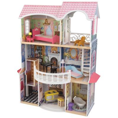 maison de poup e manoir magnolia kidkraft. Black Bedroom Furniture Sets. Home Design Ideas