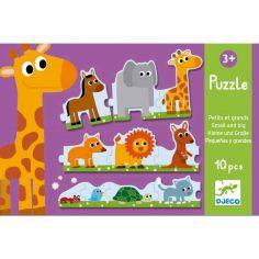 Puzzle petits et grands (10 pi�ces) - Djeco