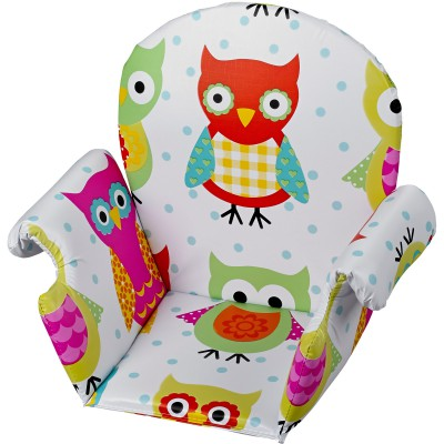 Assise chouettes pour chaise haute geuther
