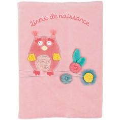 Livre de naissance chouette Mademoiselle et Ribambelle - Moulin Roty