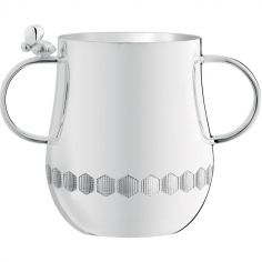 Timbale deux anses Beebee (m�tal argent�)  - Christofle