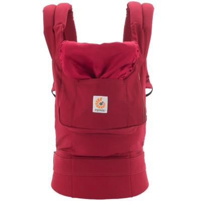 Porte bébé original rouge