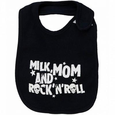 Bavoir milk mum rock (3-6 mois)