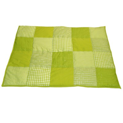 tapis de jeu patchwork vert anis 100 x 80 cm taftan tapis de jeu berceau magique. Black Bedroom Furniture Sets. Home Design Ideas