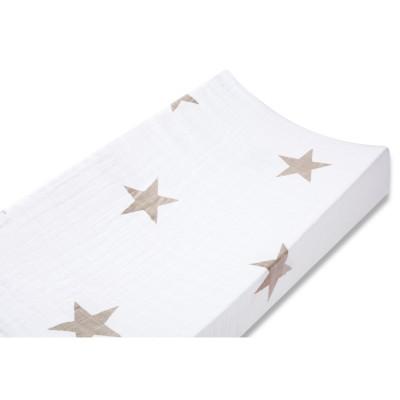 Housse de matelas à langer étoile super star (43 x 83 cm)