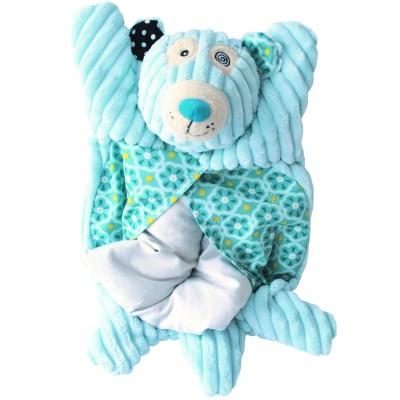 Bouillotte à graines illicos l'ours polaire