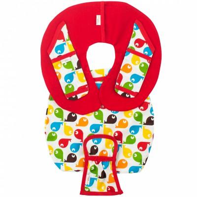 Protège ceinture de sécurité pour siège-auto pebble fish