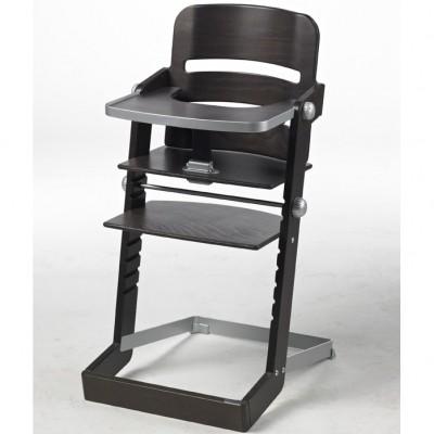 chaise haute volutive tamino bois marron fonc geuther. Black Bedroom Furniture Sets. Home Design Ideas