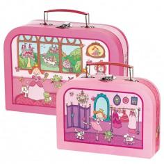 Set de 2 valises Pinky Queeny - Sigikid