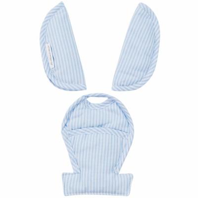 Protèges ceinture de sécurité pour siège-auto cabrio blue stripe