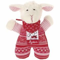 Doudou hochet mouton Schnuggi - Sigikid