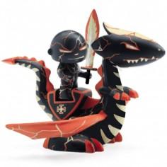 Figurine chevalier armé Drago & Volcano