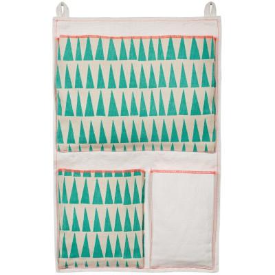 Vide poche mural triangles mimi 39 lou berceau magique for Vide poche mural plastique
