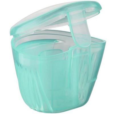 Boîte de stérilisation pour sucettes turquoise