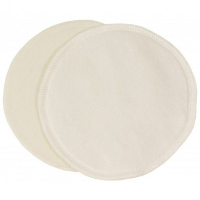 Coussinets d'allaitement lavables en laine et soie 1 paire (10 cm)