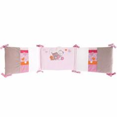 Tour de lit veloudoux Iris et Babette (pour lits 60x120 et 70x140cm) - Noukie's
