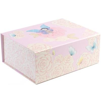 Boîte de rangement poétique léopoldine (32 x 25 cm)
