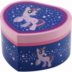 Bo�te � bijoux coeur My Little Pony Twilight Sparkle - Trousselier