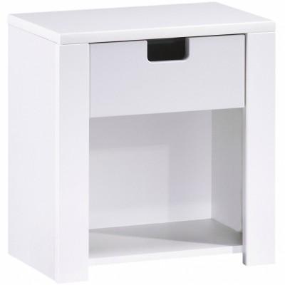 table de chevet city gris sauthon easy berceau magique. Black Bedroom Furniture Sets. Home Design Ideas