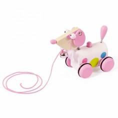 Petit chien rose Ella � tirer - Scratch