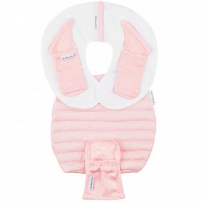 Protèges ceinture de sécurité pour siège-auto pebble pink bows