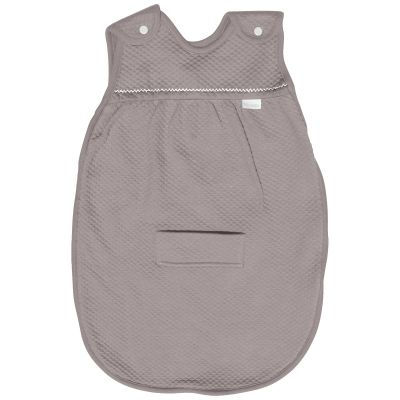 Gigoteuse lgre TOG 0.5 Taupe / blanc (75 cm) par Red Castle