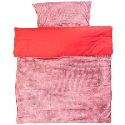 housse de couette taie d 39 oreiller lit enfant philo red. Black Bedroom Furniture Sets. Home Design Ideas