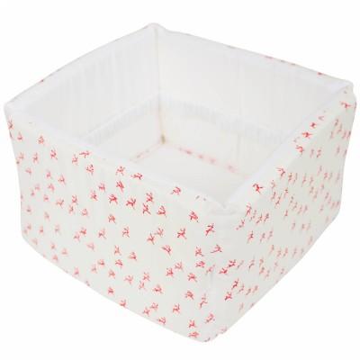 corbeille en tissu rabbits les rves d 39 anas. Black Bedroom Furniture Sets. Home Design Ideas