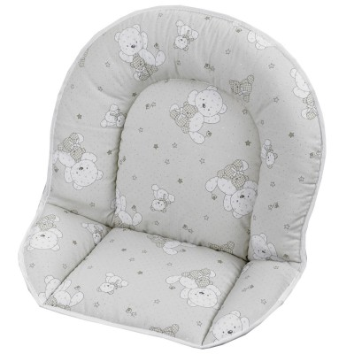 Assise coton ours pour chaise haute geuther