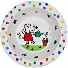 Assiette creuse Mimi la souris - Petit Jour Paris