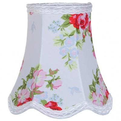 abat jour floral rose pour lampe 15 x 15 cm little dutch. Black Bedroom Furniture Sets. Home Design Ideas