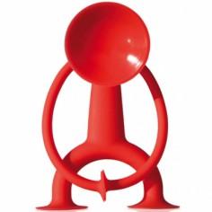 Grande figurine ventouse Oogi rouge - Oogi