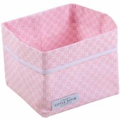 Panier de rangement Sweet pink (petit mod�le) - Little Dutch