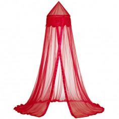 Ciel de lit Fleurs rouge - Taftan