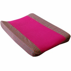 Housse de matelas � langer Retro Vintage Pink (50 x 70 cm) - Moepa