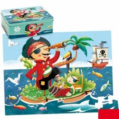 Puzzle Pirate (35 pi�ces) - Goula