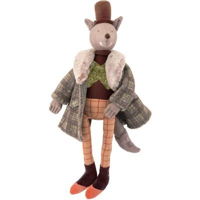 Poupée souple Loup le Gentleman Il était une fois (50 cm)