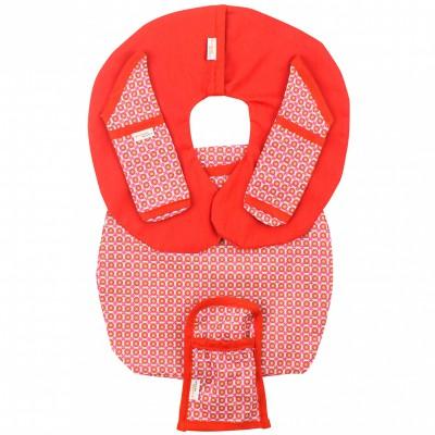 Protège ceinture de sécurité pour siège-auto pebble philo red