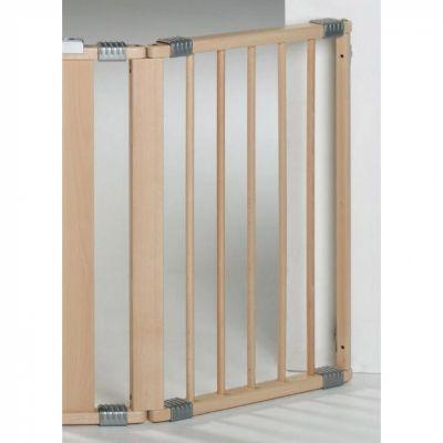 Extension pour barrière de sécurité bois naturel (44 cm)