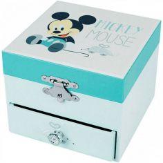 Bo�te � musique Cube Mickey Baby - Trousselier