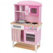 Cuisine familiale rose en bois - KidKraft