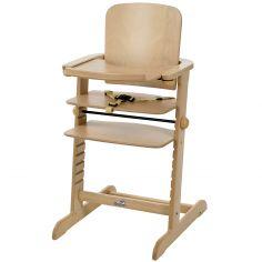 Chaise haute b b des chaises hautes pour les repas table de b b - Chaise evolutive bois ...
