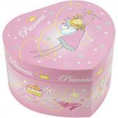 Boîte à bijoux musicale Coeur de princesse - Trousselier
