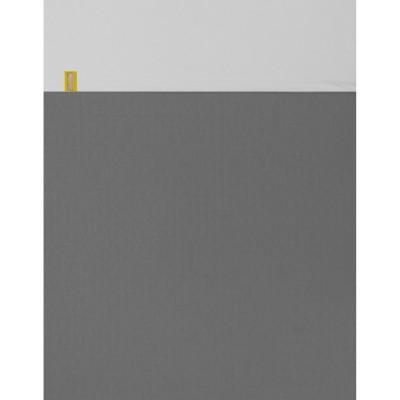 couvre lit basics gris clair et gris fonc 100 x 150 cm. Black Bedroom Furniture Sets. Home Design Ideas