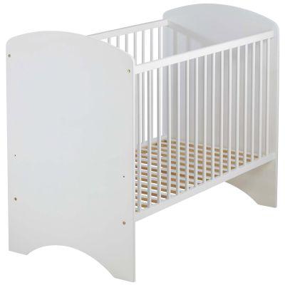 Lit bébé blanc sweety (120 x 60 cm)