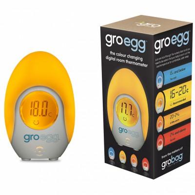 Thermomètre numérique veilleuse gro-egg