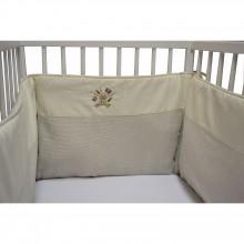 tour de lit toutou pour lits 60x120 et 70 x 140cm. Black Bedroom Furniture Sets. Home Design Ideas