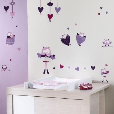 sticker mural mam 39 zelle bou sauthon baby dco. Black Bedroom Furniture Sets. Home Design Ideas