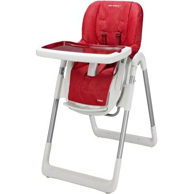 Chaise haute kaléo rouge