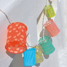 Guirlande lumineuse lampion Summer